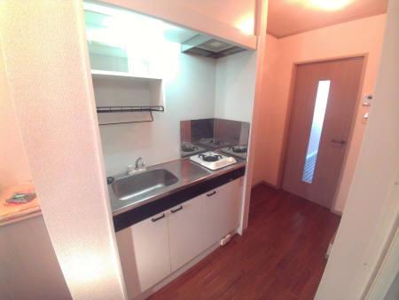 エクレール相原A 206号室のキッチン