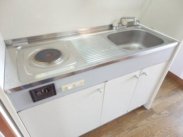 プラード千波 206号室のキッチン