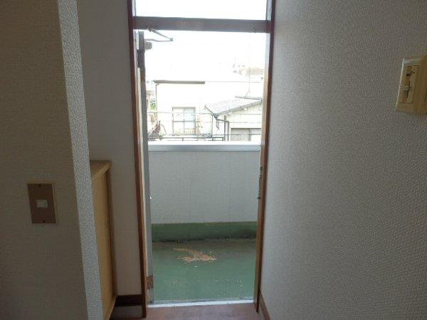 プラード千波 206号室の玄関