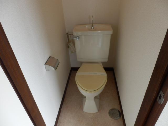 ハイツ霜越 303号室のトイレ