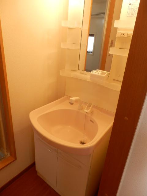 プレミール泉 203号室の洗面所