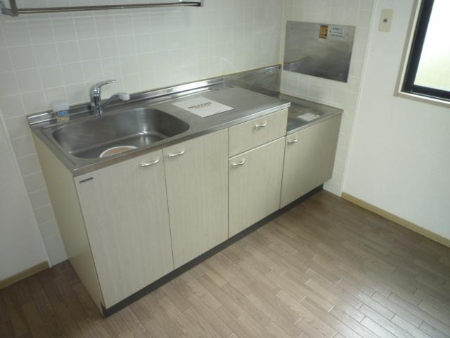 クレストD 102号室のキッチン