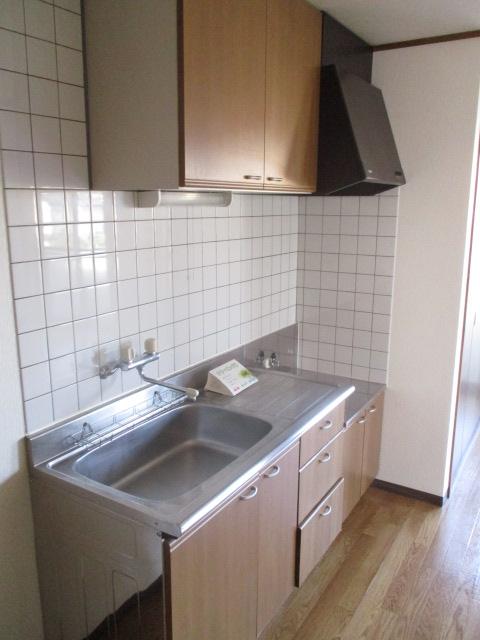 コーポ光 302号室のキッチン