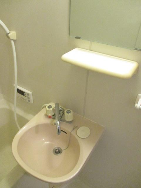 コーポ光 302号室の洗面所