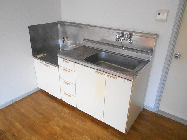 ハイツぐるーびー 201号室のキッチン