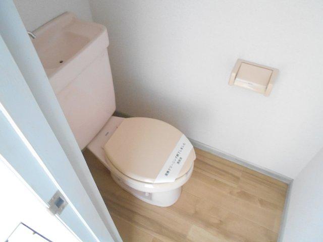 ハイツぐるーびー 201号室のトイレ
