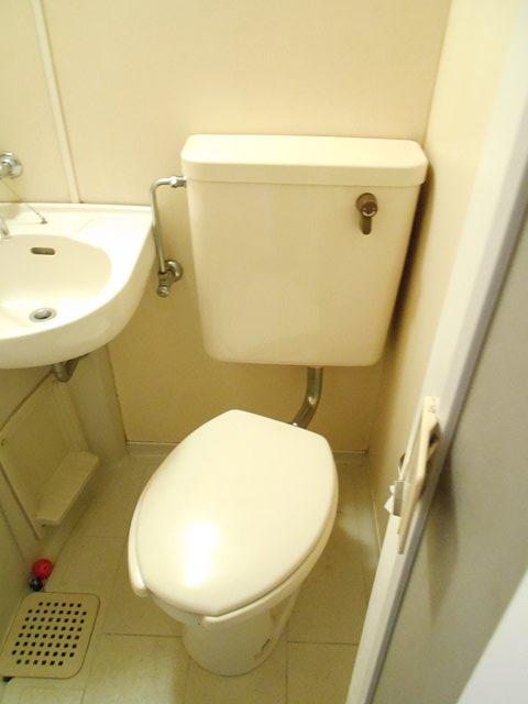 レモンホームすすきの 102号室のトイレ