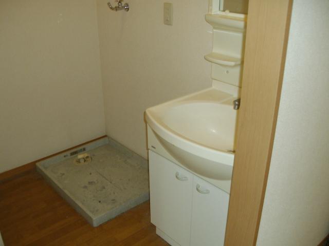 セレニティーホームズC 102号室の洗面所