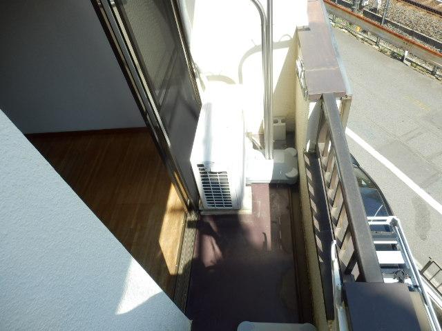 ウィルハイム 202号室のバルコニー