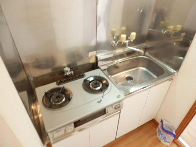 ウィルハイム 202号室のキッチン
