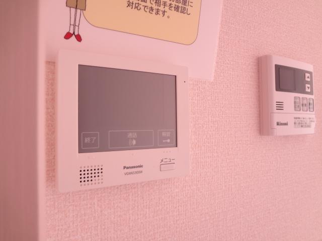 エスポワールD 101号室のセキュリティ