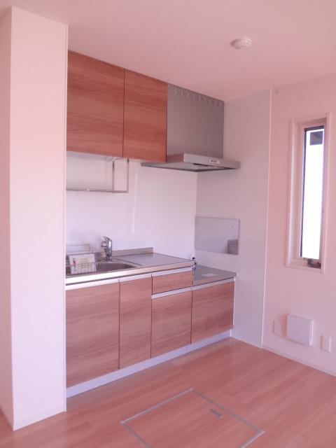 エスポワールD 101号室のキッチン