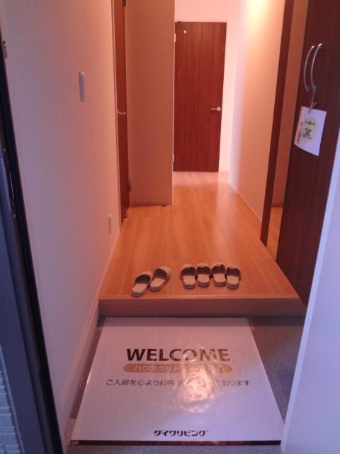 エスポワールD 101号室の玄関