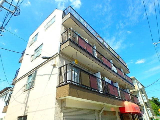 横山ビル 201号室の外観