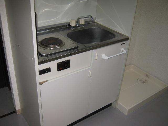 コンフォートスズヤ 502号室のキッチン