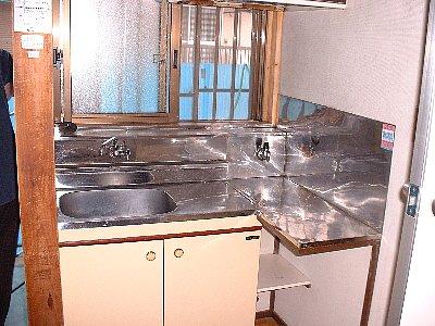 さつき荘 2号室のキッチン