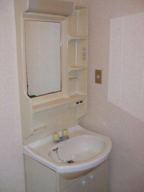 REVER AJISAI 202号室の洗面所