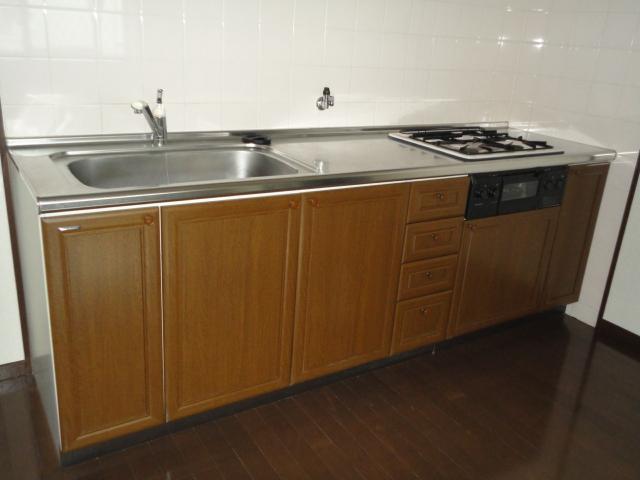 隅除マンション 101号室のキッチン