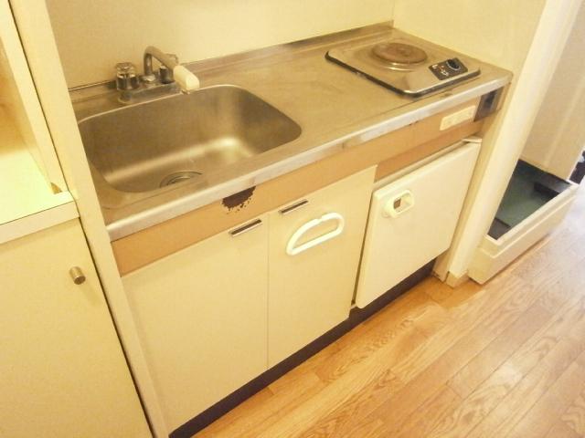 セントラルフラット多摩平 202号室のキッチン