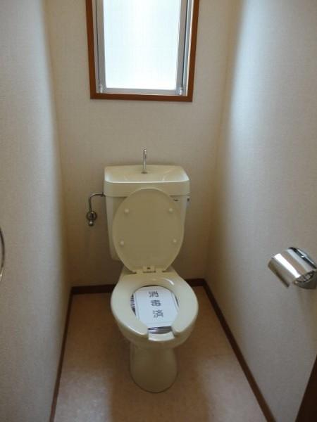 コーポ八田 201号室のトイレ