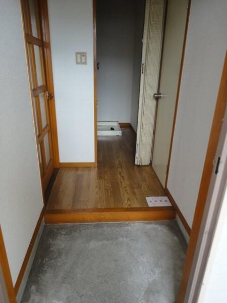 コーポ八田 201号室の玄関
