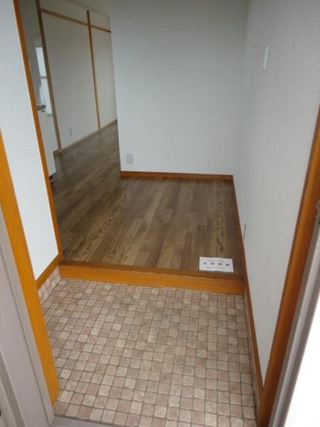 コーポ八田 301号室の玄関