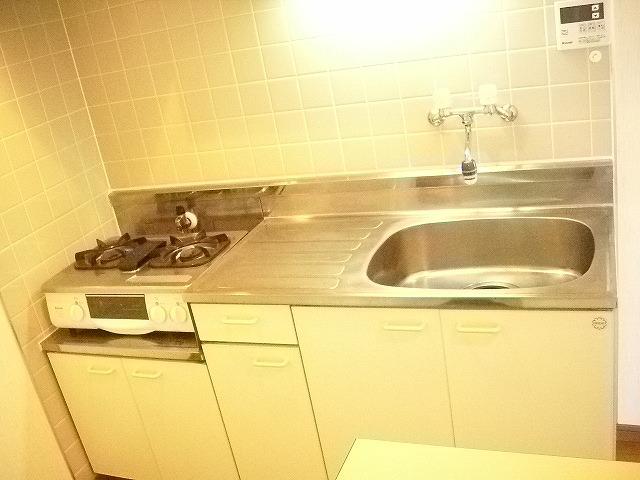 KHハイツⅡ 201号室のキッチン