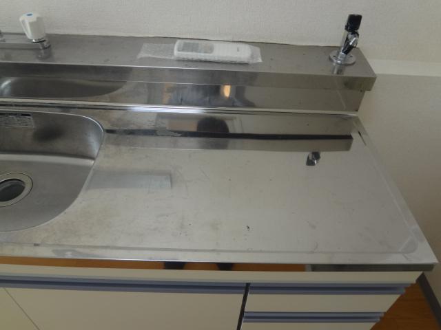オーシャンハイツパート1 108号室のキッチン