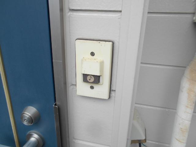 フラット・ニフティー 103号室のセキュリティ