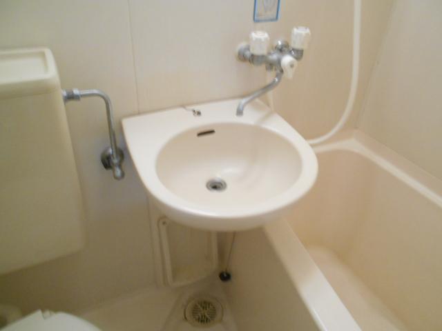 フラット・ニフティー 103号室の洗面所