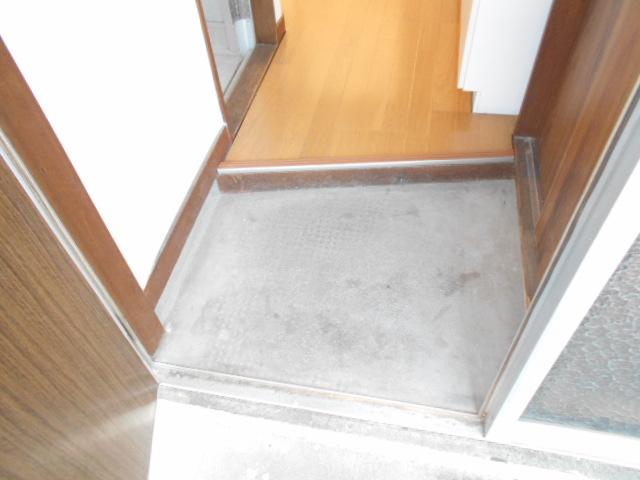 喜久美荘 201号室の玄関