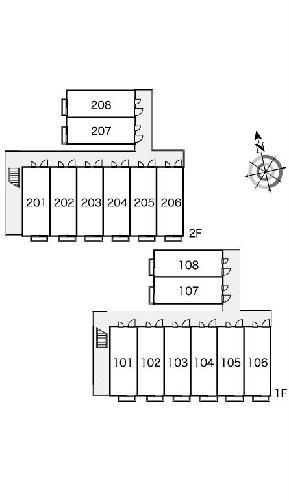 レオパレスフラッツスクエアⅡ 203号室のその他