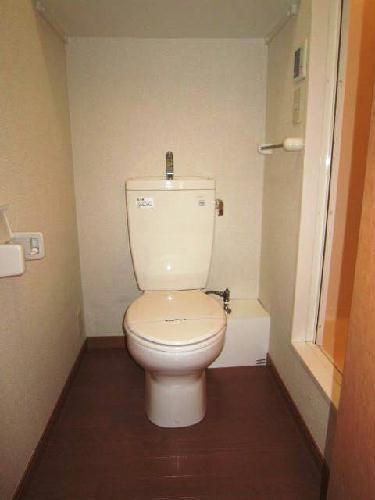 レオパレスフラッツスクエアⅡ 203号室のトイレ
