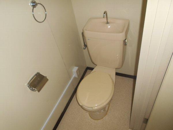 ディマンシュ清水 202号室のトイレ
