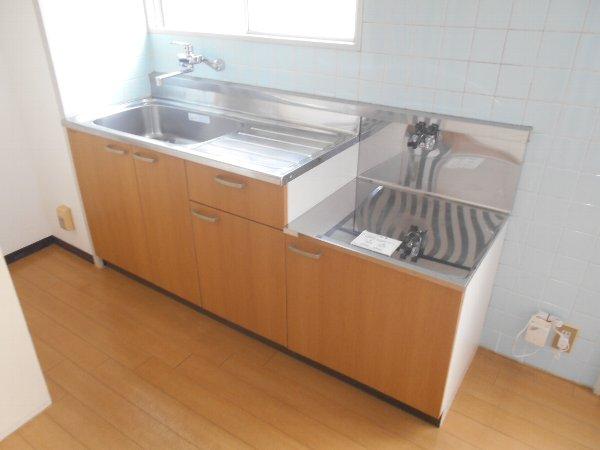 ディマンシュ清水 202号室のキッチン
