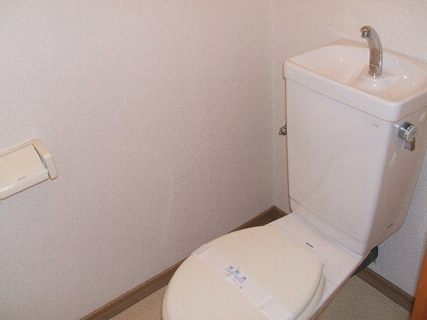 サープラスワン岩田 101号室のトイレ
