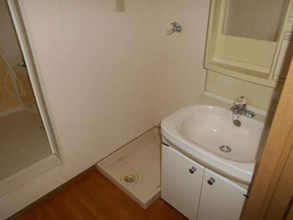 きららハイツ A103号室の洗面所