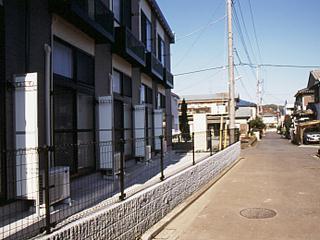 レオパレス元橋本Ⅰ 201号室のバルコニー