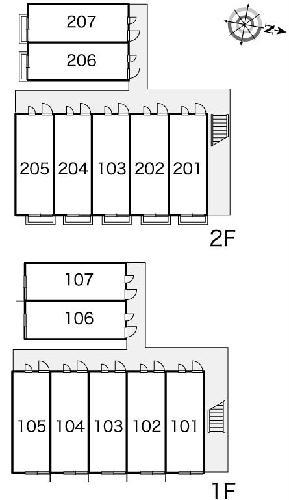 レオパレス元橋本Ⅰ 201号室のその他共有