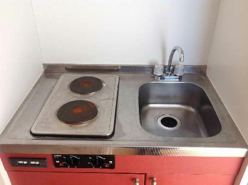 レオパレス内田 208号室のキッチン