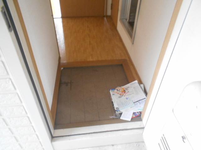 シティハイムアサヒダイ 101号室の玄関