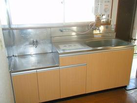 豊荘 202号室のキッチン