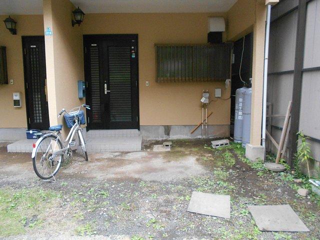 大成コーポの駐車場