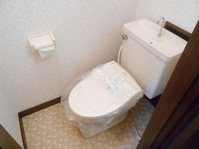 大成コーポのトイレ