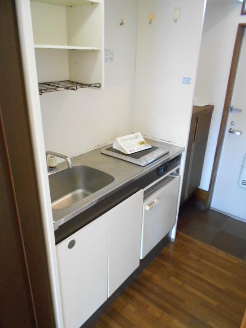 ラフォーレ錦 203号室のキッチン