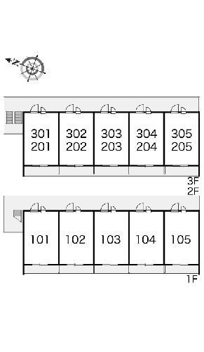 レオパレス多摩平 103号室のその他
