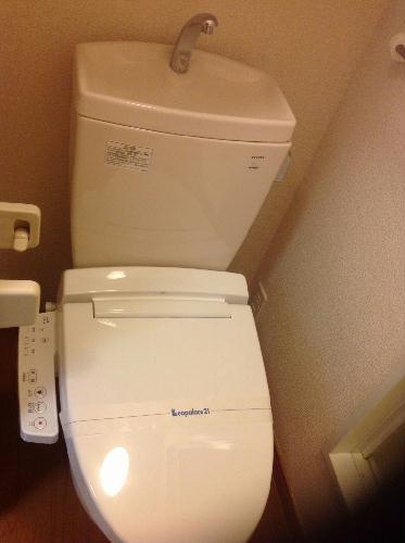 レオパレス多摩平 103号室のトイレ