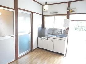 美よし荘 101号室のキッチン