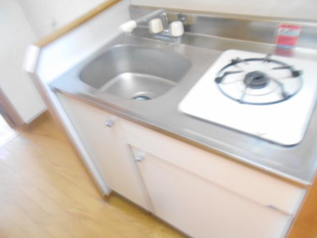 ソミュール百草Ⅰ 103号室のキッチン