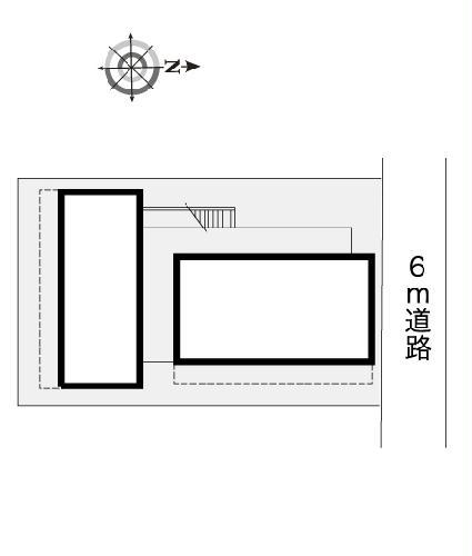 レオパレス大野木 204号室のキッチン
